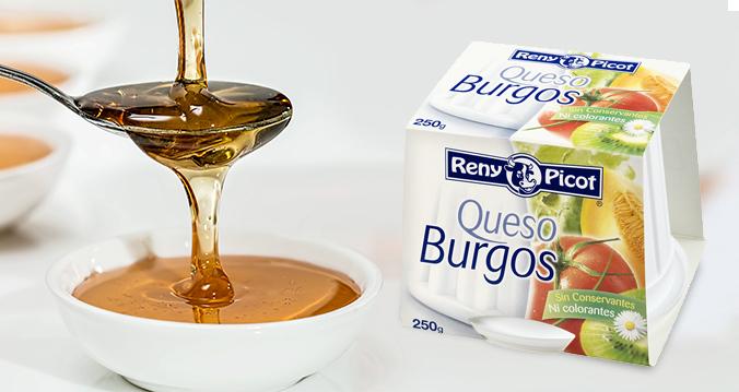 Queso Burgos Reny Picot con miel