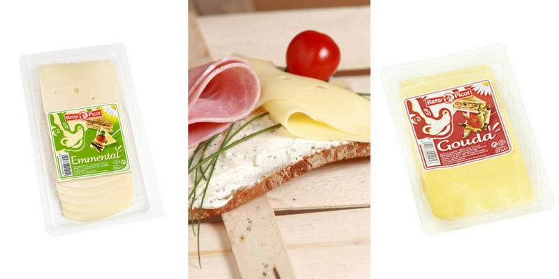 recetas para picnic - aperitivos con queso loncha para ninos