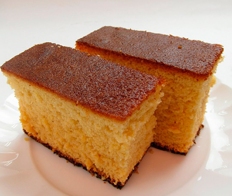 Bizcocho natural esponjoso - recetas para picnic