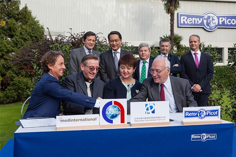 Reny Picot Acuerdo Chino