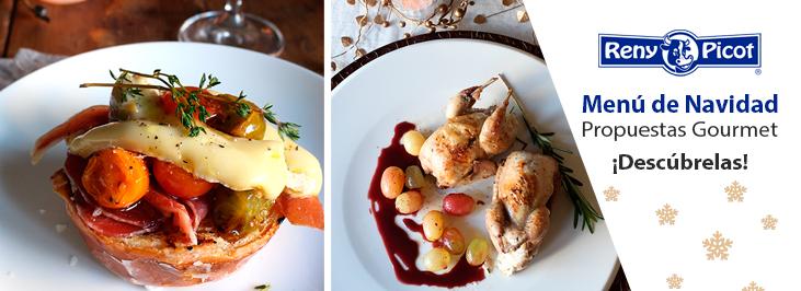 Menu de navidad recetas gourmet Reny Picot