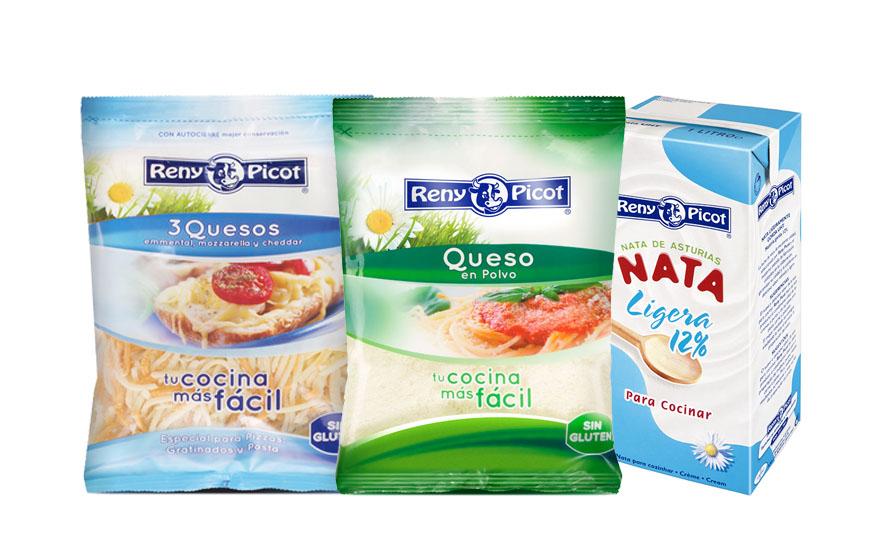 Quesos y nata para Espaguetis a la Carbonara