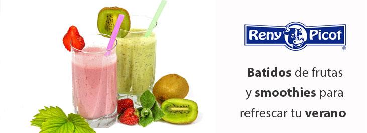 Batidos de frutas y smoothies