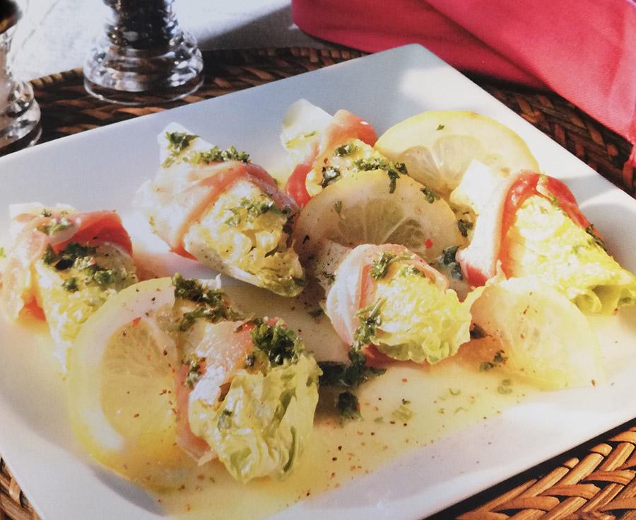 Recetas con mantequilla - Corazones de Lechuga