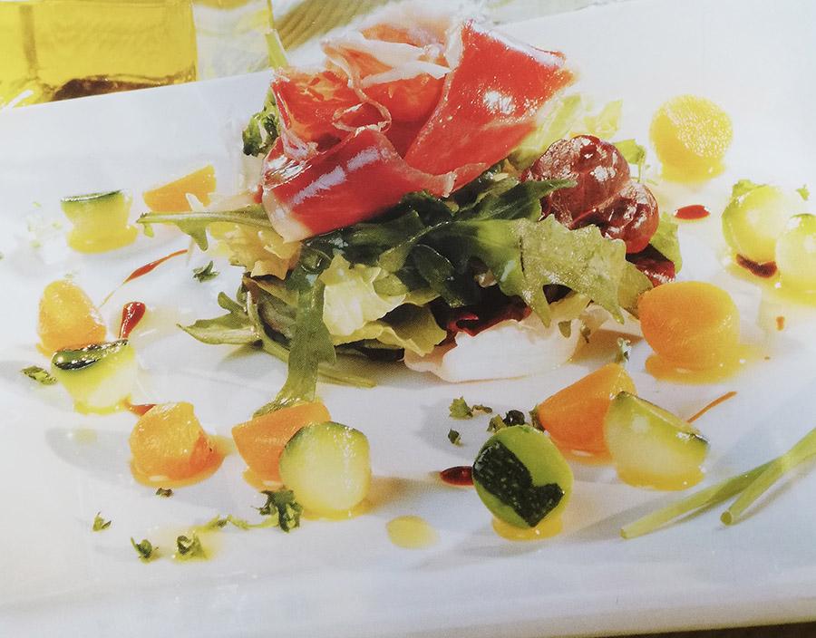 Recetas con mantequilla - Ensalada verduritas