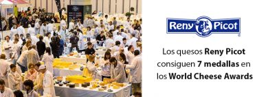 Quesos Reny Picot premiados en world cheese awards