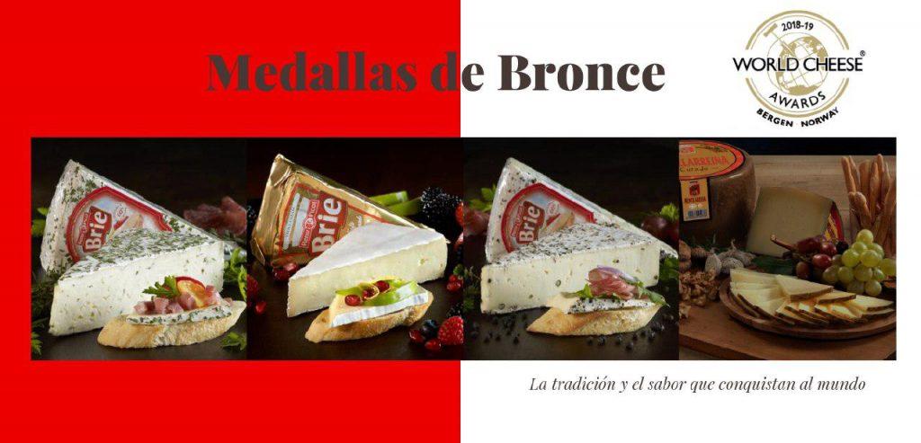 Quesos Reny Picot premiados en world cheese awards