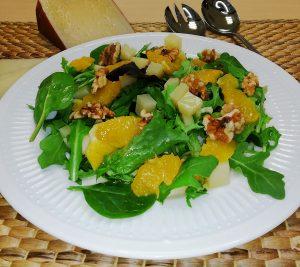 Ensalada de Naranja y queso Señorío de Montelarreina