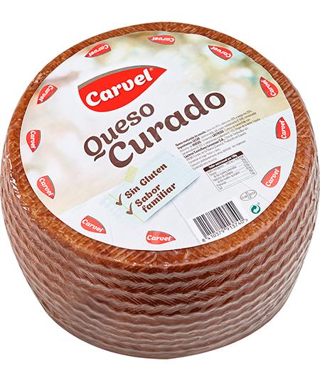 Pieza de queso curado