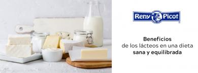 beneficios de los lácteos en una dieta sana y equilibrada