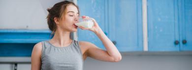 lácteos en verano