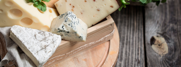 quesos azules